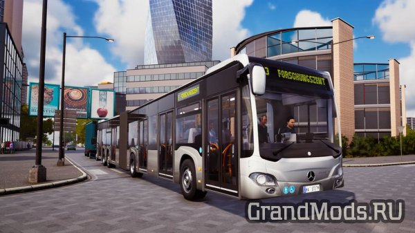 Bus Simulator 18: Набор автобусов Mercedes