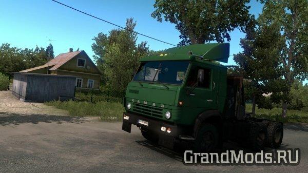 Грузовик КамАЗ-5410 для ETS2 1.38