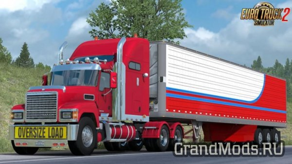 Грузовик MACK Pinnacle CHU613 для ETS2 v1.38