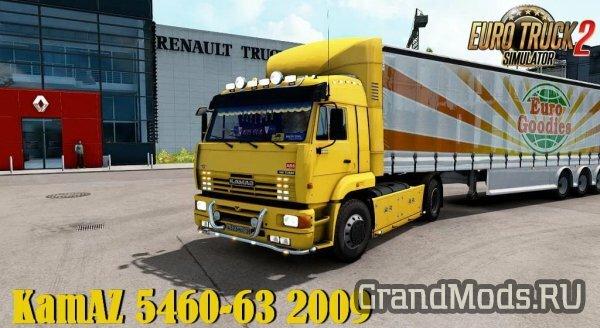 Грузовик КамАЗ 5460-63 2009 для ETS2 138