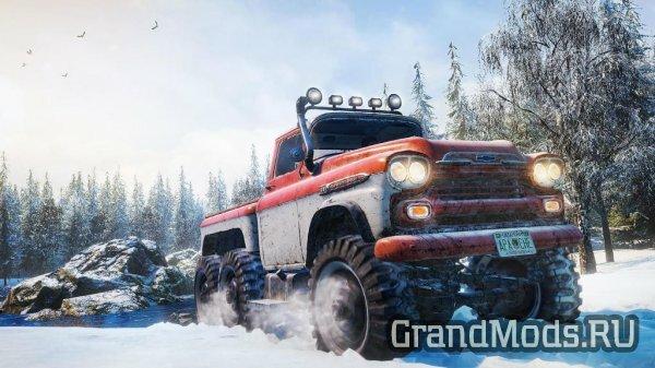 Вышел пикап Chevrolet Apache 38 для SnowRunner