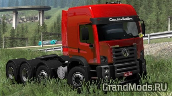 Грузовик Volkswagen Constellation 8x4 для ETS2