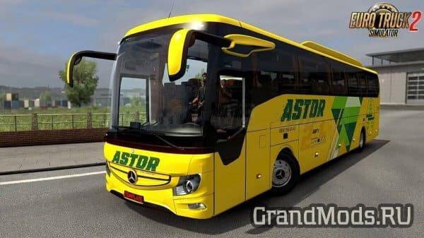 Автобус Mercedes-Benz Tourismo16 RHD 2018 для ETS2
