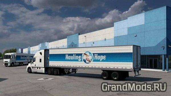 Мероприятие World of Trucks  #HaulingHope по доставке вакцины