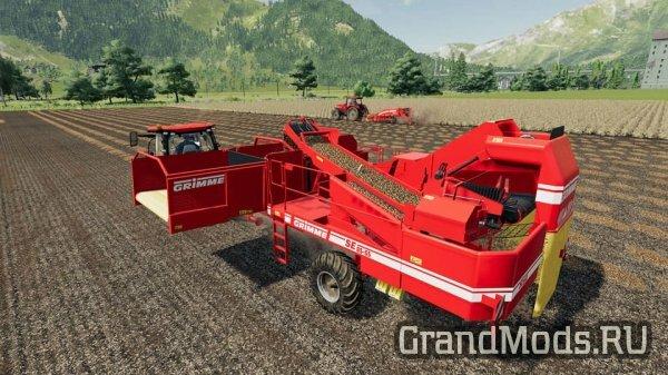 Вышел набор оборудования DLC GRIMME для FS19