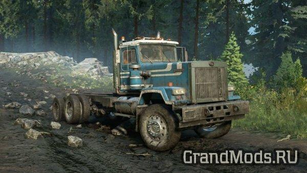 Тяжелый грузовик Pacific P512 для SnowRunner