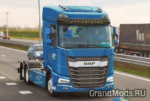 В ETS 2 появится новый грузовик DAF