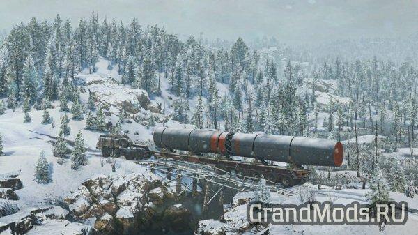 SnowRunner вышел в Steam вместе с 4 этапом обновления