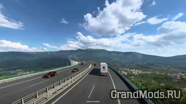 Живописная трасса Португалии Autoestrada А24
