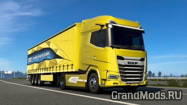 Вышел новый грузовик DAF XG и XG+ для Euro Truck Simulator 2