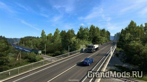 Красивая природа из DLC Сердце России