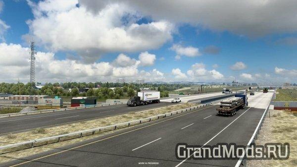 Вайоминг - Города вдоль шоссе I-80