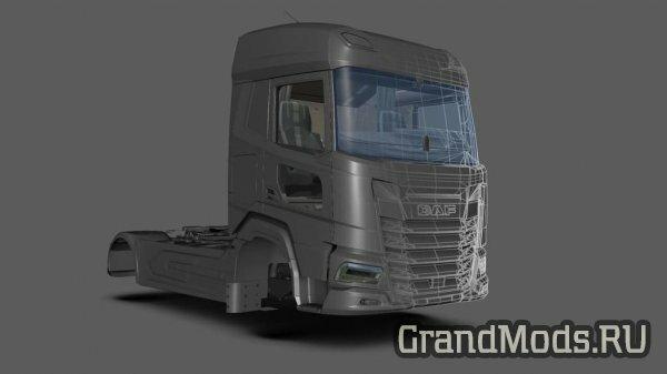 Обновление прогресса разработки грузовика DAF XF 2021