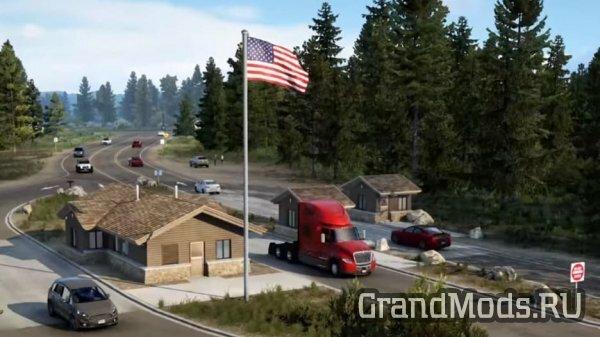 Новый грузовик International и прицепы скотовозы для ATS