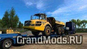 Вышел набор негабаритов Volvo CE  для ATS и ETS2