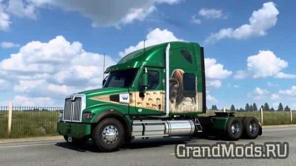 Мероприятие World of Trucks - Круиз по штату Вайоминг