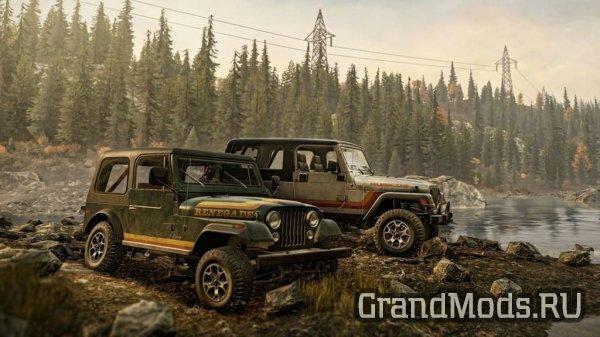 Вышел набор Jeep Dual Pack для SnowRunner