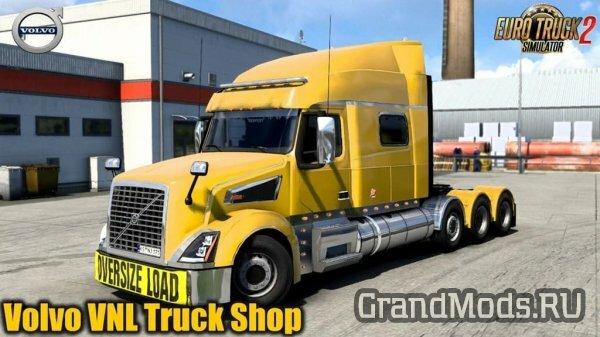 VOLVO VNL Truck Shop v1.4.5 + [ETS2]